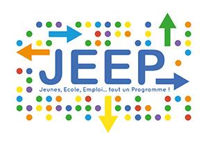 Jeep:Jeune, école, emploi, tout un programme!